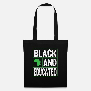 Hustle Black and educated - Tote Bag