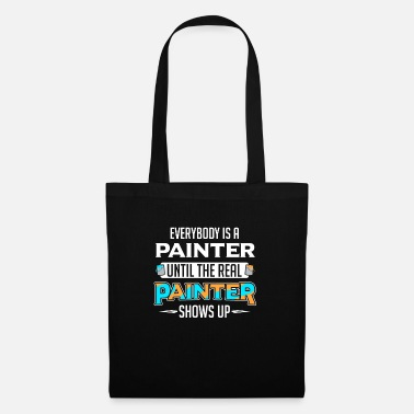 Pittore Artist Brush Paint Can Painting - Borsa di stoffa