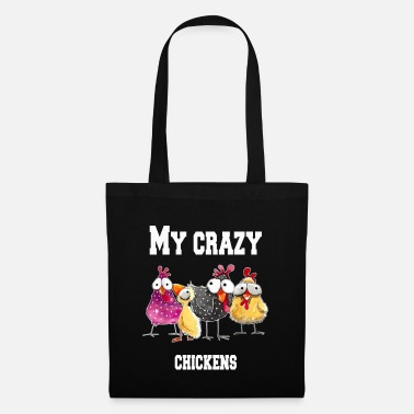 Easy My crazy chickens - Tote Bag