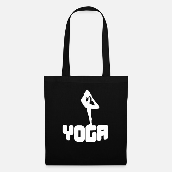 Namaste Bags & Backpacks - Yoga exercise Yoga - Tote Bag black