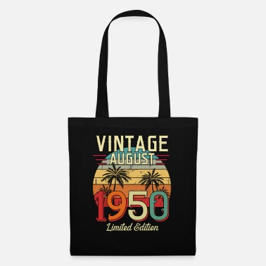 Vintage Vintage August 1950 Limited Edition - Tote Bag