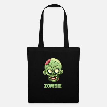 Scary Zombie Halloween - Tote Bag