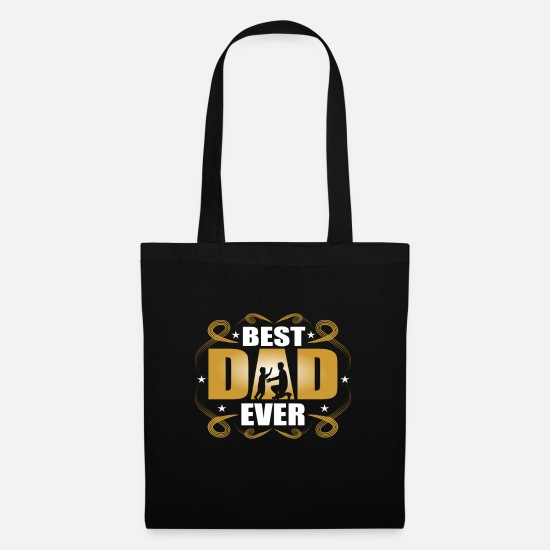 Birthday Bags & Backpacks - Dad Dad Dad's Gift Dad Father's Day Birthday - Tote Bag black