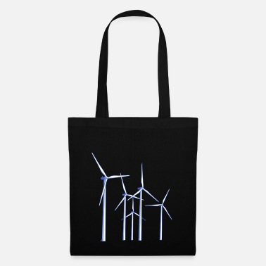 Wind wind turbines - Tote Bag