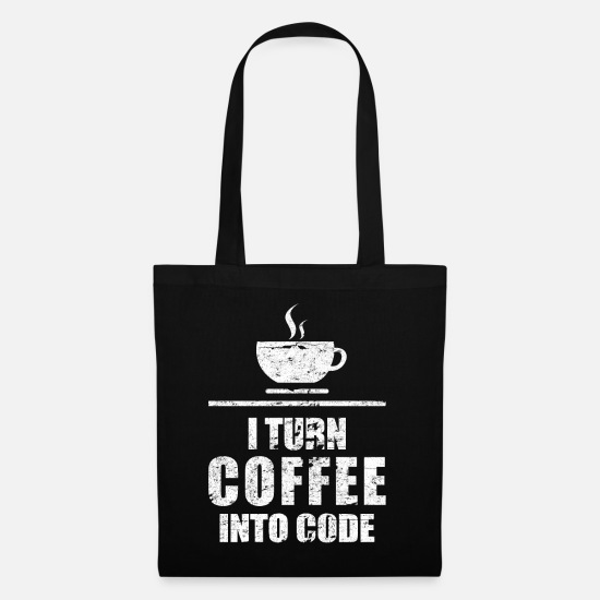 Code Bags & Backpacks - programmer - Tote Bag black