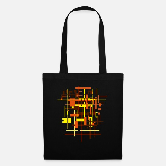 Architecture Bags & Backpacks - Architecture pattern - Tote Bag black