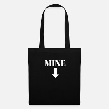 Mine, Arrow graphic women's rights My choice it's - Tote Bag