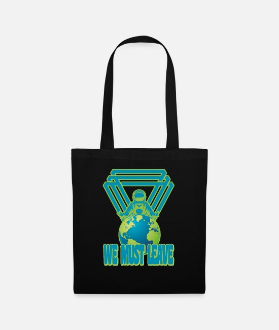 Aliens Bags & Backpacks - EARTH - Tote Bag black
