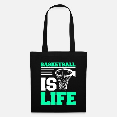 Basketball Basketball Sports Player Basketball Is Life Gift - Tote Bag