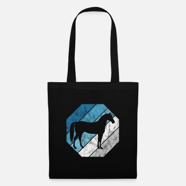 Gallop Horse Equestrian Equestrian Pony Riding Horses Retro - Tote Bag