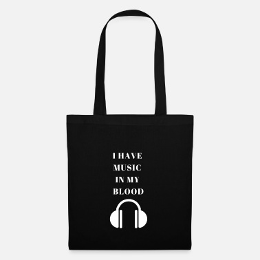 Song Writer I have music in my blood songs writer musican gift - Tote Bag