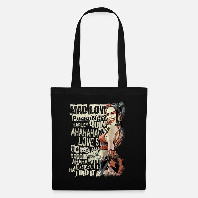 Harley Quinn wink Stoffveske | Spreadshirt