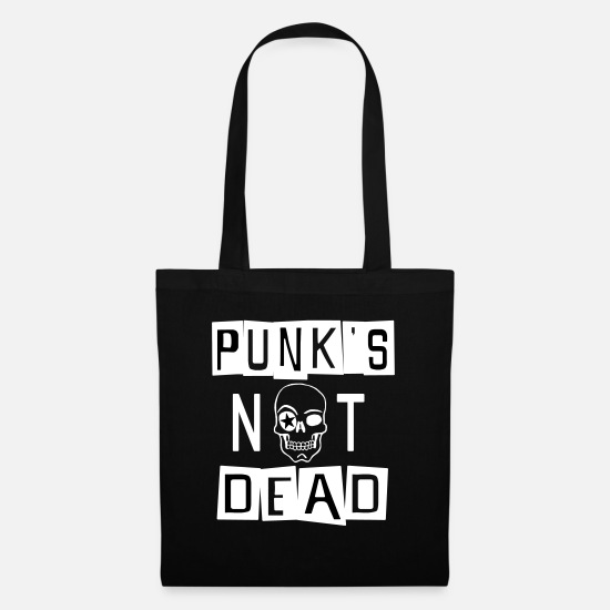 Punks Not Dead Bags & Backpacks - PUNK'S NOT DEAD - Tote Bag black
