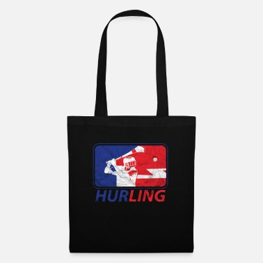 Ash Hurling Player Logo Irish Sliotar Hurley - Tote Bag