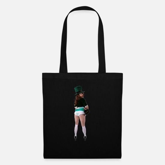 Party Bags & Backpacks - kiss me i'm irish - Tote Bag black