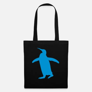 Waddle waddle blue penguin - Tote Bag