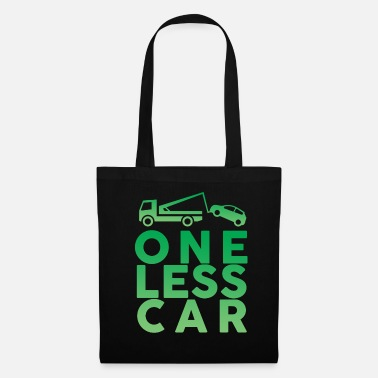 Xmas One car less - Tote Bag