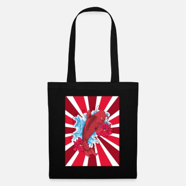 japanese carp - Tote Bag