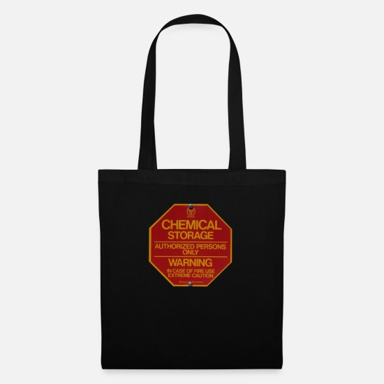 Chemistry Bags & Backpacks - sign - Tote Bag black