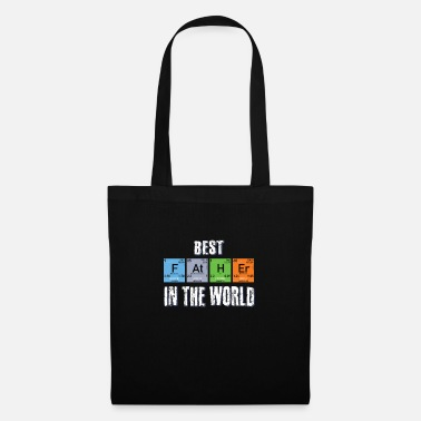 Nerd Best Father funny elements - Tote Bag