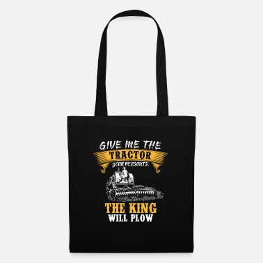 Farmer Tractors Gift · The King - Tote Bag