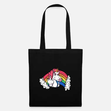 Mythical Unicorn sticky fingers - Tote Bag