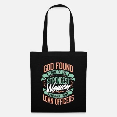 Salary Strong Woman Loan Officers Profession Gift Idea - Tote Bag