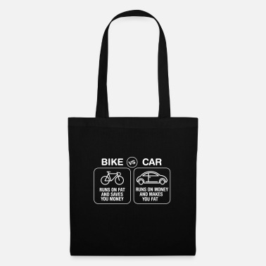Bike Bike VS Car - Tote Bag