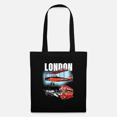 Taxi London by day and night! - Tote Bag