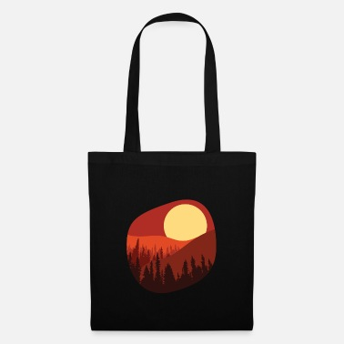 Sunset Scene Design - Tote Bag