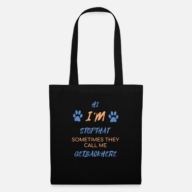 German Shepherd Dog gift playful love dog school cool - Tote Bag