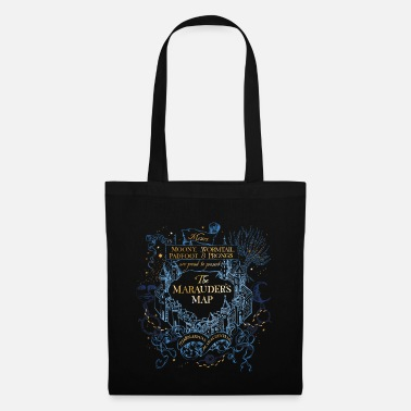Harry Potter The Marauder's Map - Tote Bag