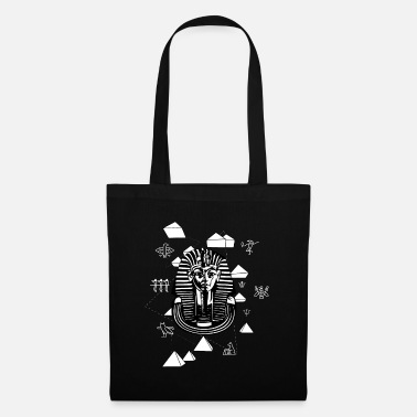 Egypt Ancient Egyptian symbols pharaoh and hieroglyphs - Tote Bag