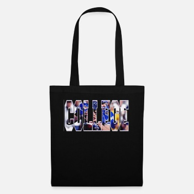 College Football college american football tshirt design - Tote Bag
