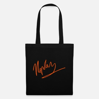 Writing napoleon signature - Tote Bag