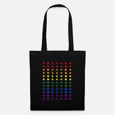 Pride dice - DnD Dungeons & Dragons D&D - Tote Bag