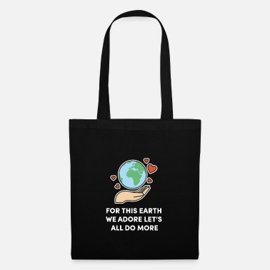 Ice fridays for future Climate Change. Do something - Tote Bag