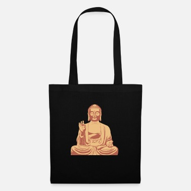 Budda Budda Sitting - Tote Bag