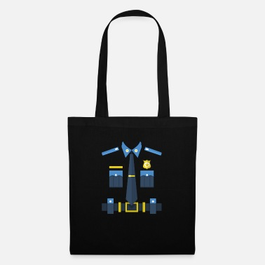 Uniform Police uniform - Tote Bag
