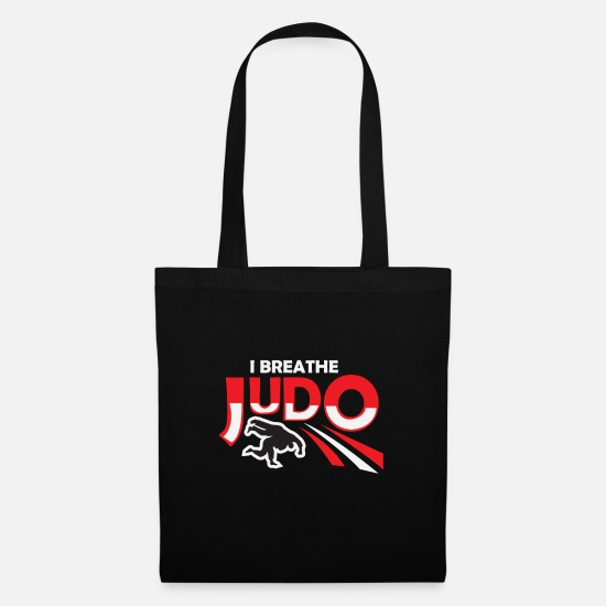 Art Bags & Backpacks - I breathe judo sports design - Tote Bag black