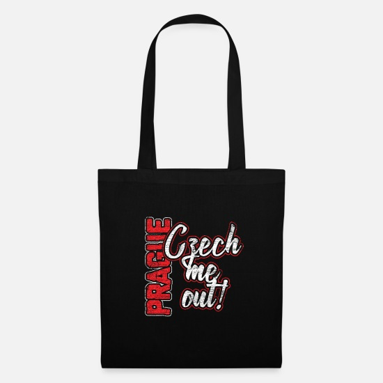 Czech Republic Bags & Backpacks - Czech Republic Prague Czech Eastern Europe gift - Tote Bag black