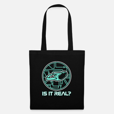 Video Game Virtual Reality Gift HMD VR Headset Interactive - Tote Bag