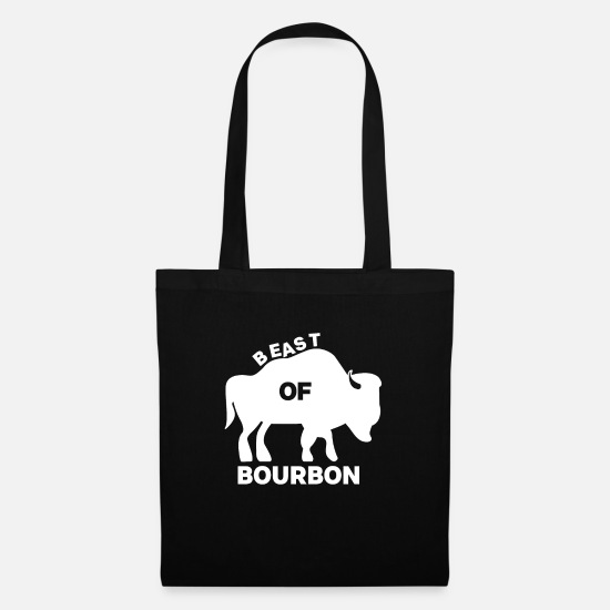 Party Bags & Backpacks - Beast of Bourbon - Tote Bag black