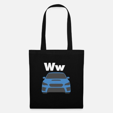 Ps Car Alphabet W - Tote Bag