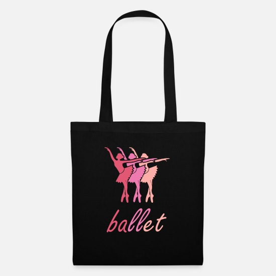 Ballet Bags & Backpacks - piano - Tote Bag black