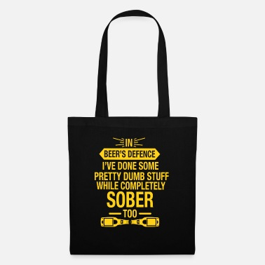 Defence In Beer's Defence Gift - Tote Bag