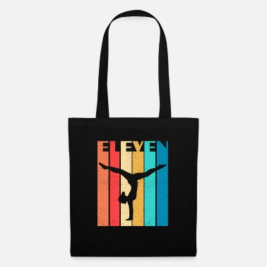 Horse Fan Vintage Gymnastics 11 Year Old - Tote Bag