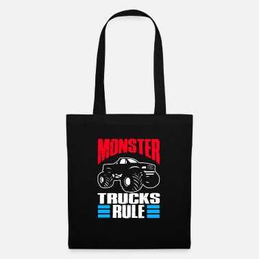 V8 Monster Truck Car Gift | Monster Truck - Tote Bag