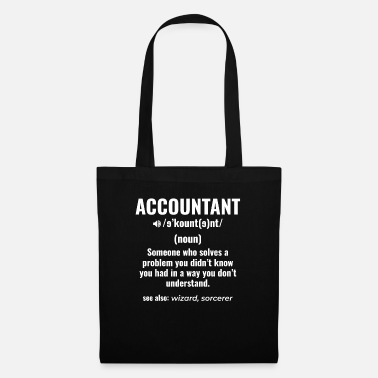 Foreign Word Accountant accounting job gift idea saying - Tote Bag