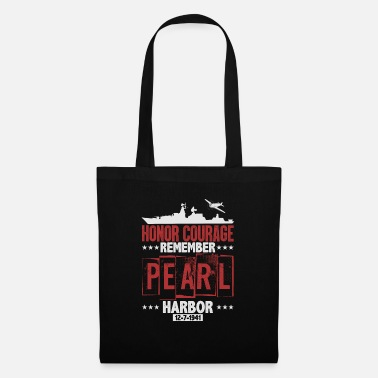 Pearl Remember Pearl Harbor - Tote Bag